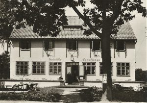 Das Forsthaus Markgrafenheide in den 30er Jahren